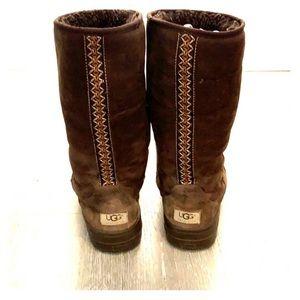 🔥 Limited Edition Ugg Australian Stitch Boots 8